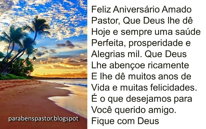 Mensagem De Aniversario Para Um Pastor Evangelico