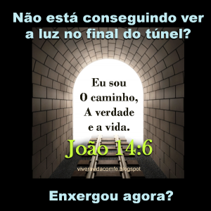 luz no final do túnel