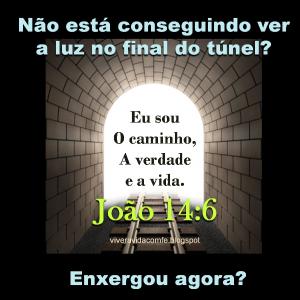 luz no final do túnel