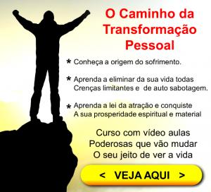O caminho da transformação pessoal - banner
