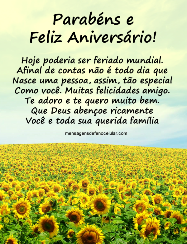 mensagem de aniversário para amigo gdonhjur6