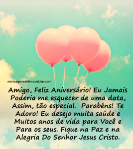 mensagem de aniversário para amigo nhmnbhjj