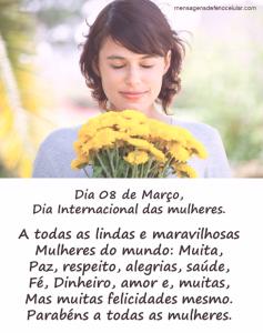 mensagem para o dia internacional das mulheres 7