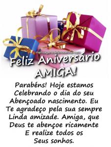 mensagem de aniversário para amiga nbhguy