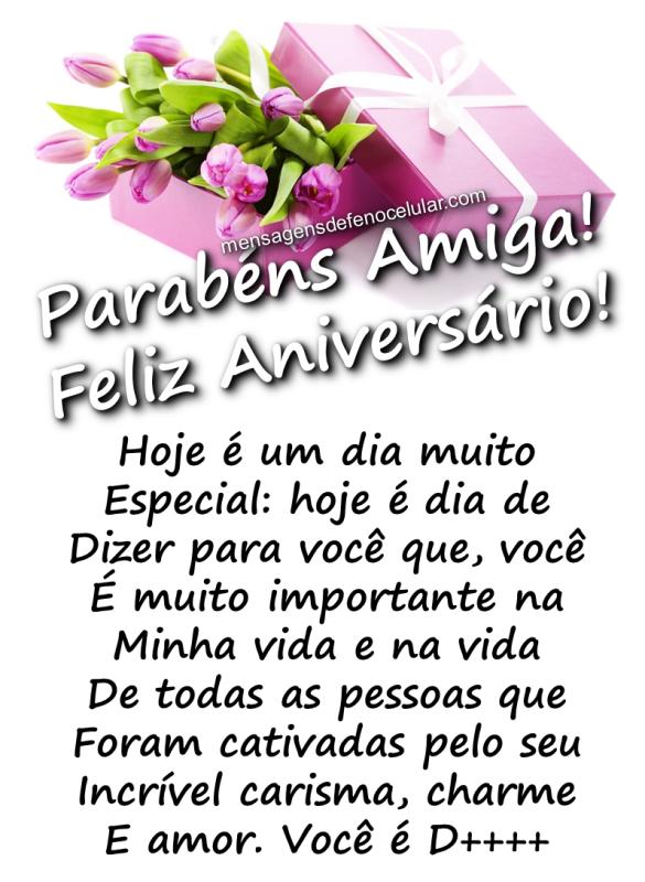 mensagem de aniversário para amiga nbhnbfgtr6guy
