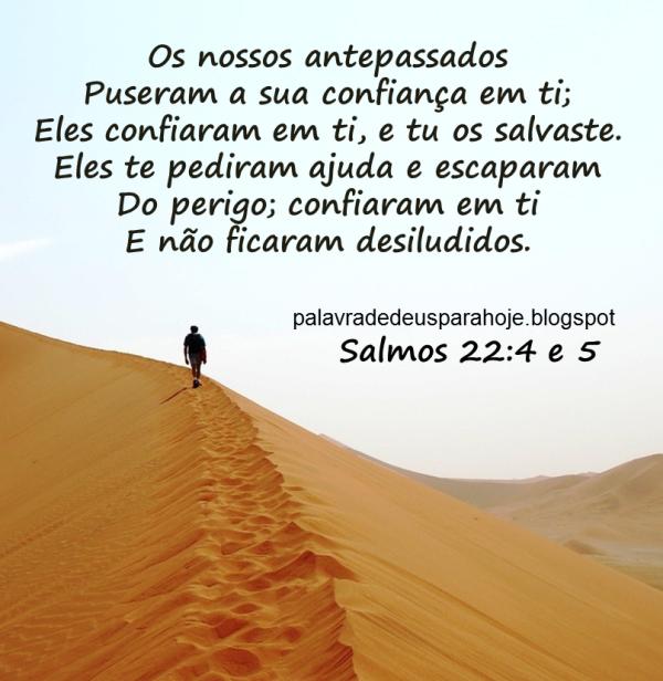 Palavra de Deus para Hoje - confiança juuuhn
