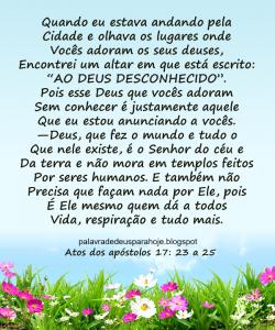 Palavra de Deus para Hoje - sabedoria fsdre5e6fhn