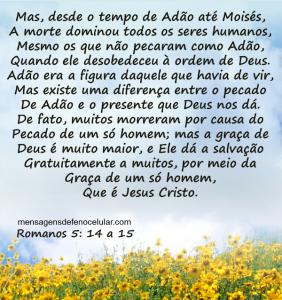 Palavra de Deus para hoje - amor de Deus fsdrejmn